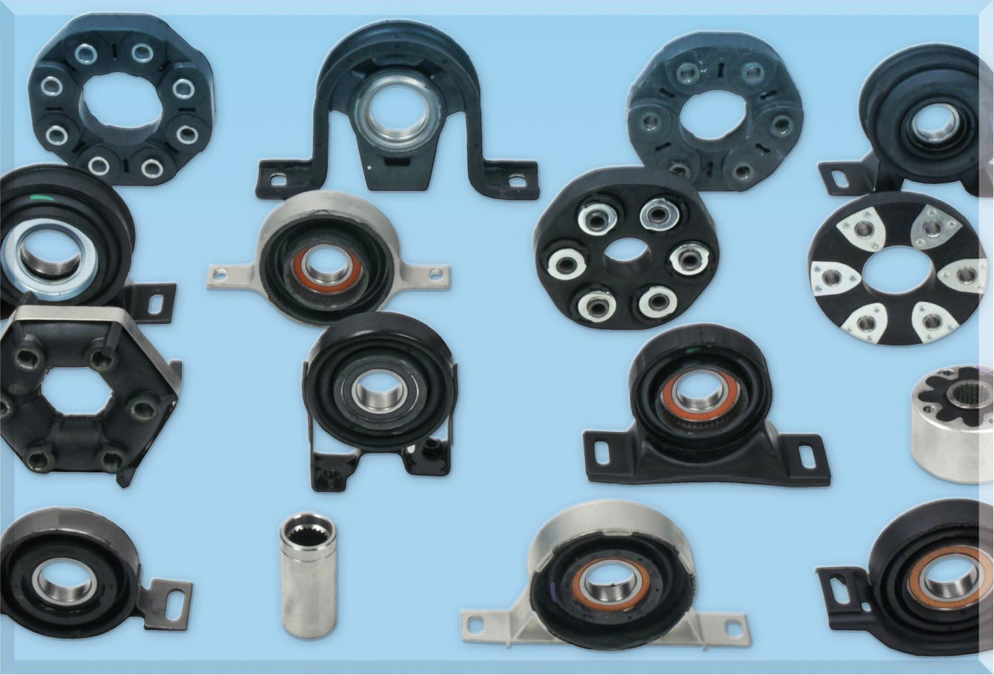 Driveshaft flex joint and Propeller Shaft Mount - UNIGOM rubber parts