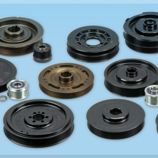 Belt pulleys, Cranshaft
