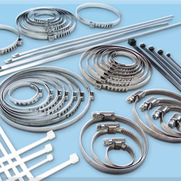 Schneckengewinde Schlauchschellen und Kabelbinder